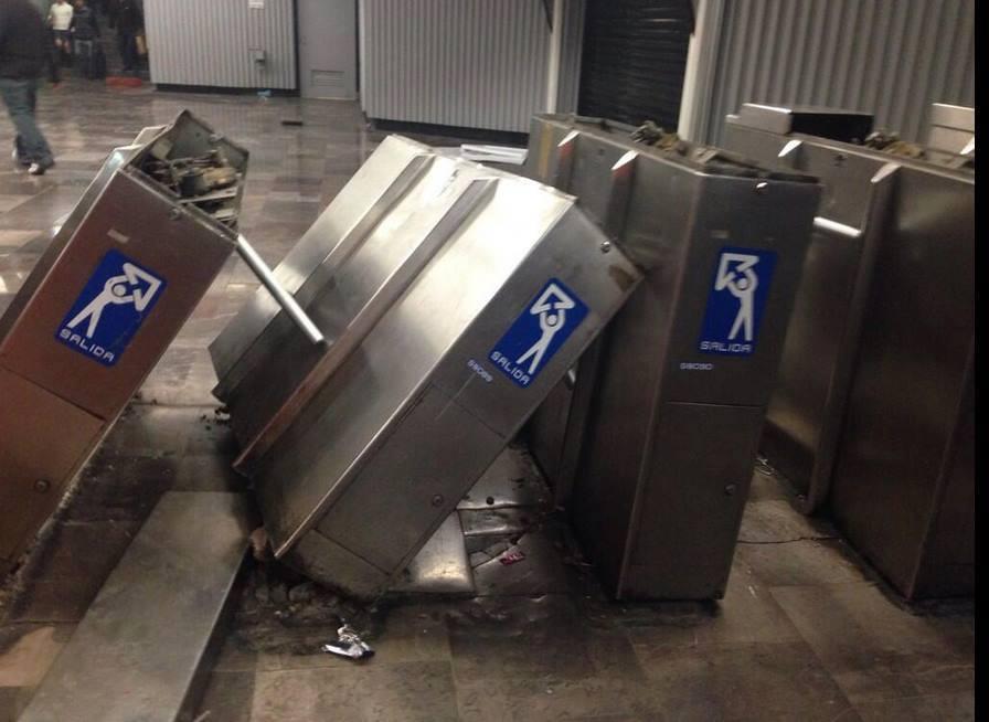 Torniquetes-Metro-Hidalgo